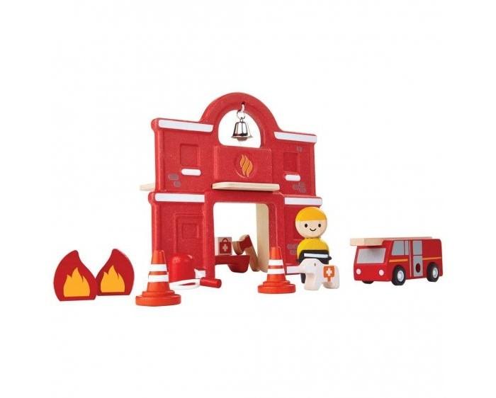 Plan Toys Набор Пожарная станция