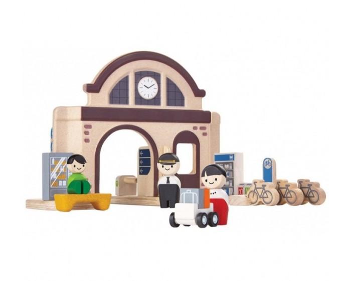 Plan Toys Набор Вокзал