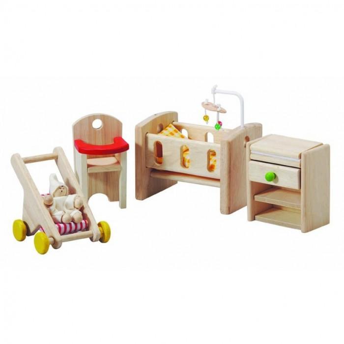 аксессуары для детской комнаты Кукольные домики и мебель Plan Toys Мебель для детской комнаты