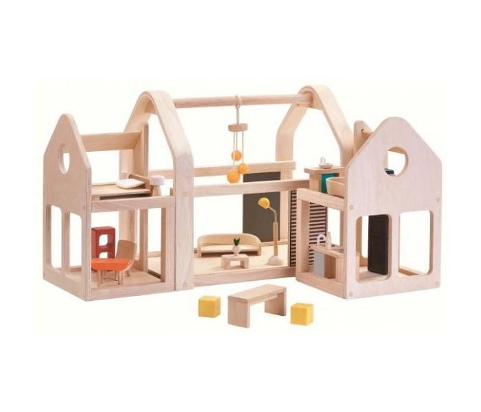 Plan Toys Кукольный домик с мебелью