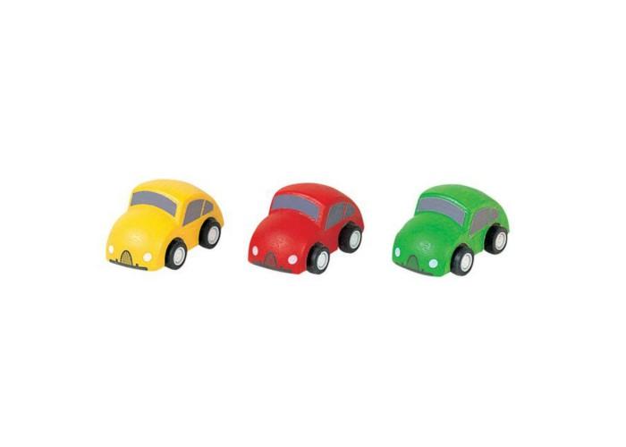 Купить Машины, Plan Toys Набор деревянных машинок Город