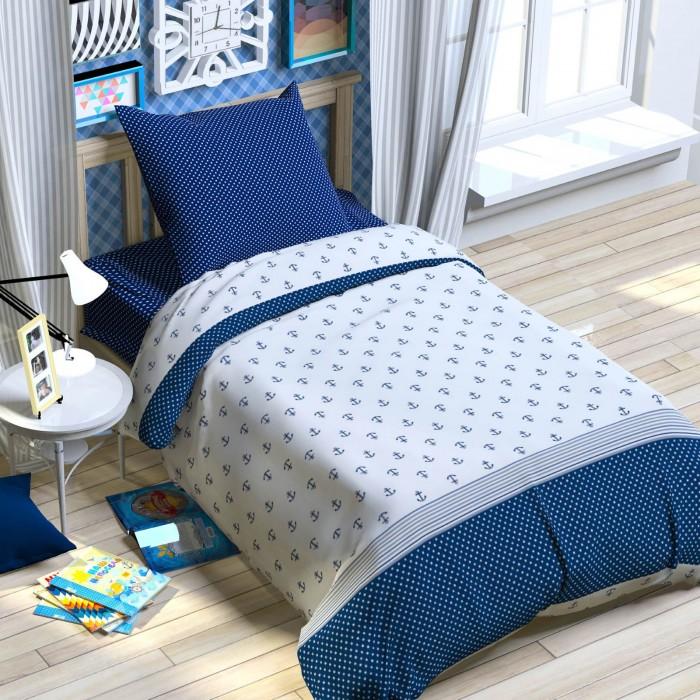 Постельное белье Этелька Якоря 1.5-спальное (3 предмета)