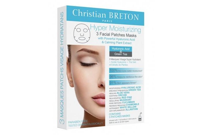 Купить Косметика для мамы, Christian Breton Paris Супер увлажняющая маска для лица 3 шт.