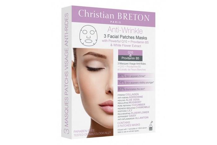 Christian Breton Paris Маска для лица против морщин 3 шт. от Christian Breton