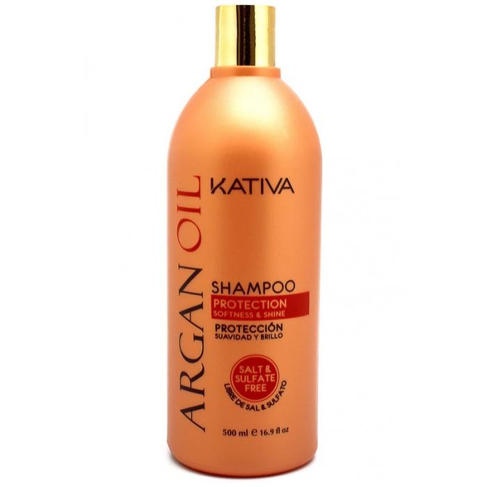 Kativa Argana Увлажняющий шампунь с маслом Арганы 500 мл от Kativa