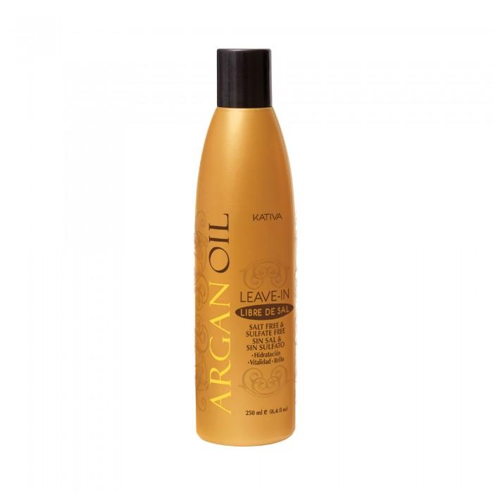 Косметика для мамы Kativa Argana Несмываемый оживляющий концентрат для волос с маслом Арганы 250 мл