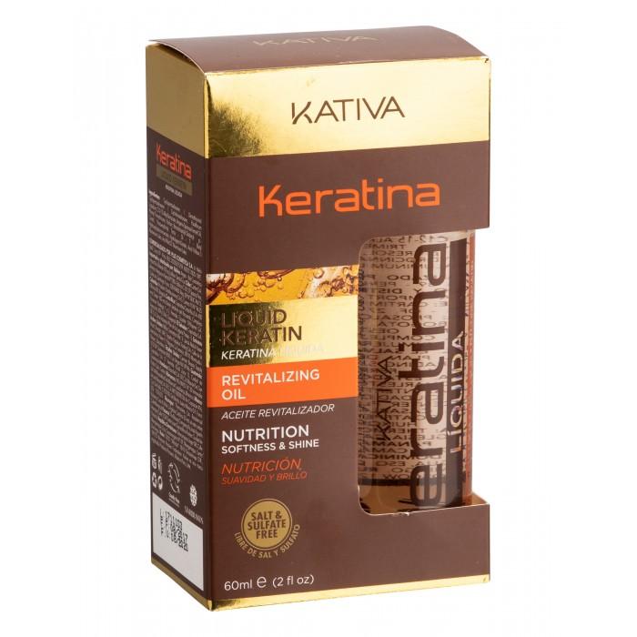 Купить Kativa Keratina Жидкий кератин 60 мл в интернет магазине. Цены, фото, описания, характеристики, отзывы, обзоры