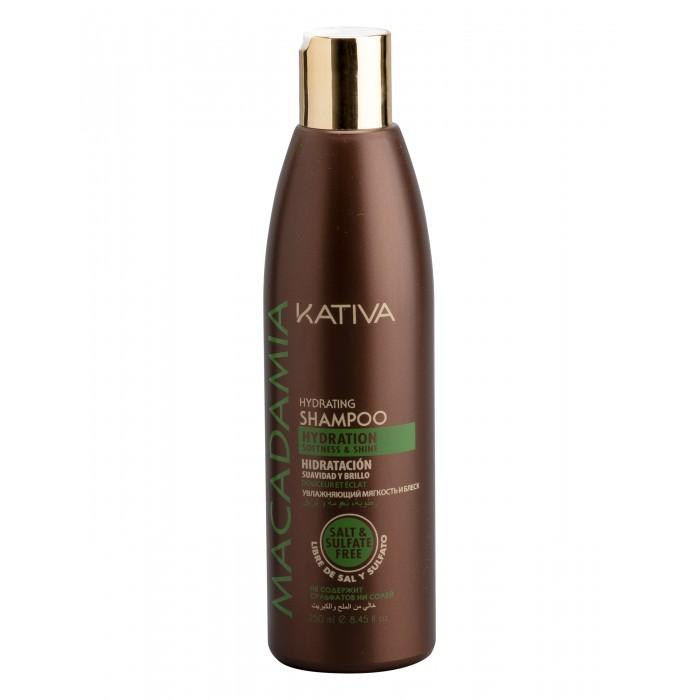 Kativa Macadamia Интенсивно увлажняющий шампунь для нормальных и поврежденных волос 250 мл от Kativa
