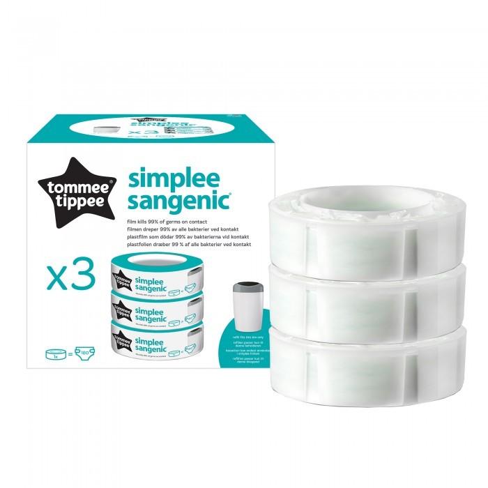 Tommee Tippee Сменная кассета для утилизатора Simplee 3 шт.