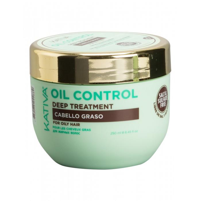 Купить Kativa Oil Control Маска Контроль интенсивный уход для жирных волос 250 мл в интернет магазине. Цены, фото, описания, характеристики, отзывы, обзоры