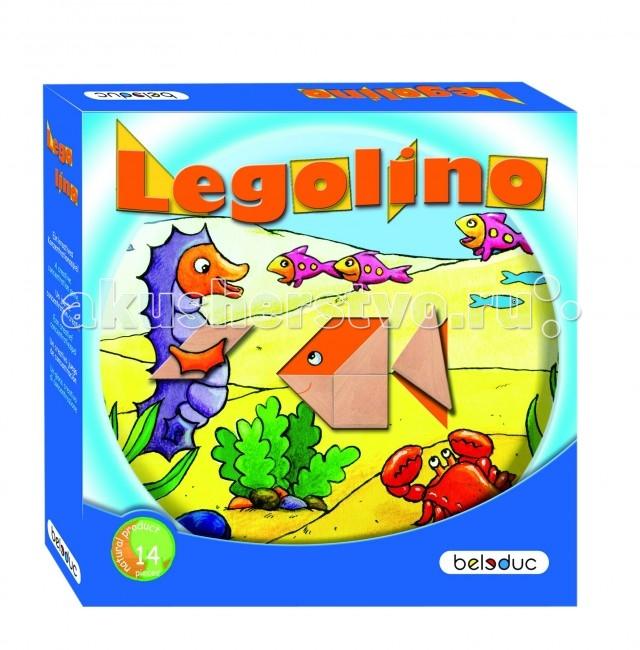 Beleduc Развивающая игра Леголино 22312Развивающая игра Леголино 22312Развивающая игра Леголино 22312 Beleduc  Современный вариант игры Танграм. Леголино способствует развитию фантазии, абстрактного мышления, визуального и тактильного восприятия цветов и форм, а также концентрации внимания и усидчивости.   В каждой карточке отсутствует определенный элемент, который необходимо заполнить геометрическими фигурами, чтобы получился целый рисунок. Игрокам предлагаются задания разных уровней сложности.  Включает: 2 комплекта по 7 деревянных частей в каждом, 15 картонных шаблонов, инструкция, подсказки.  Все детали выполнены из высококачественных материалов, совершенно безопасных для маленьких детей.  Игры Beleduc идеально подходят для начального развития детей, задолго до того, как они идут в школу, но и просто для интересного времяпрепровождения. Игры Beleduc идеально подходят для совместной игры родителей и детей. Некоторые игры очень понравятся взрослым, которые с удовольствием втянутся в процесс игры.<br>