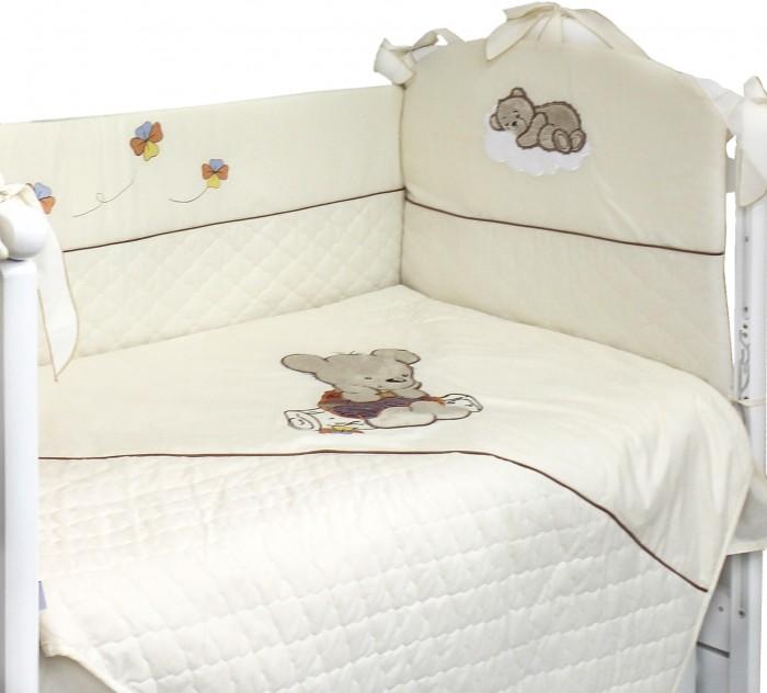 Купить Комплекты в кроватку, Комплект в кроватку Labeille Мишутка на бревнышке (5 предметов)