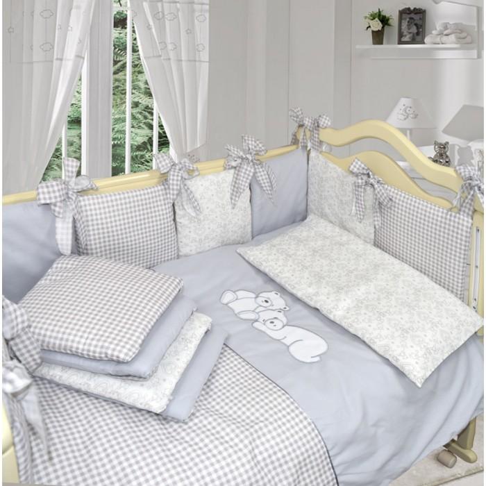 Комплект в кроватку Labeille Скандинавский (6 предметов) фото