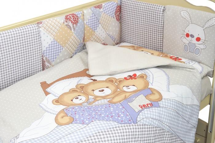Фото - Комплекты в кроватку Labeille Мишки под одеялом (6 предметов) комплекты в кроватку labeille вечеринка маленького жирафа 6 предметов
