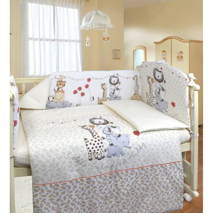 Фото - Комплекты в кроватку Labeille Вечеринка маленького жирафа (6 предметов) комплекты в кроватку labeille вечеринка маленького жирафа 6 предметов