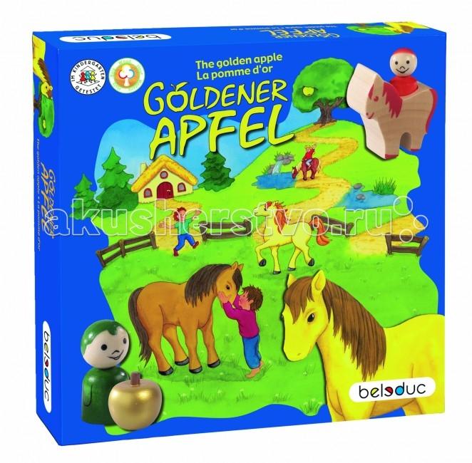 Игры для малышей Beleduc Развивающая игра Золотое яблоко 22370