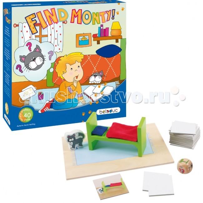 Beleduc Развивающая игра Найди кота Монти! 22420Развивающая игра Найди кота Монти! 22420Развивающая игра Найди кота Монти! 22420 Beleduc  Игра, в основе которой лежит поиск кота, нацелена на тренировку памяти, развития пространственного мышления и речевых навыков. В процессе игры дети придумывают места, где может спрятаться кот, используя кроватку, подушку и одеяло.  Различные укрытия для кота показаны на карточках, например, на кровати, рядом, позади или под ней. Игрок должен запомнить карту, которою он увидел, а затем описать изображение. Игрок, который сможет воссоздать изображение, получает карточку. Первый, кто соберет 4 карточки, побеждает.  Игра развивает познавательные, ассоциативные навыки, способности комбинировать, способности логического и образного мышления, развивает мелкую моторику рук.  Включает 40 частей: 1 фигурка кота и 1 кровать из дерева, 1 одеяло и 1 подушка из текстильного материала, 34 карточки из картона с заданиями, 1 игровая зона и 1 кубик из дерева.  Все детали выполнены из высококачественных материалов, совершенно безопасных для маленьких детей.  Игры Beleduc идеально подходят для начального развития детей, задолго до того, как они идут в школу, но и просто для интересного времяпрепровождения. Игры Beleduc идеально подходят для совместной игры родителей и детей. Некоторые игры очень понравятся взрослым, которые с удовольствием втянутся в процесс игры.<br>