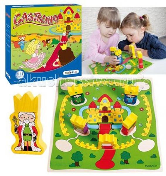 Игры для малышей Beleduc Развивающая игра Замок Кастелино 22423
