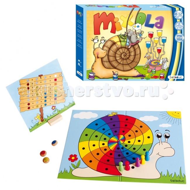 Игры для малышей Beleduc Развивающая игра Миксиола 22707