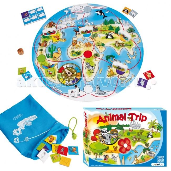 Beleduc Развивающая игра Путешествие животных 22730