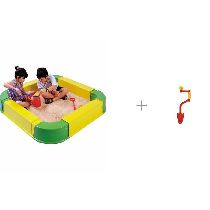 Pic`n Mix Песочница из модулей с детской игрушечной дрелью с совком Gowi
