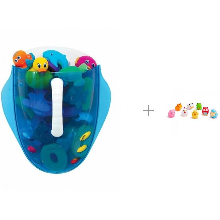 Munchkin Ковшик для игрушек в ванной с игрушками Ферма от Munchkin