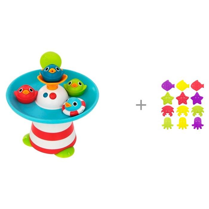 Yookidoo Игрушка Фонтан Утиные гонки и мини-коврики для ванны ROXY от Yookidoo