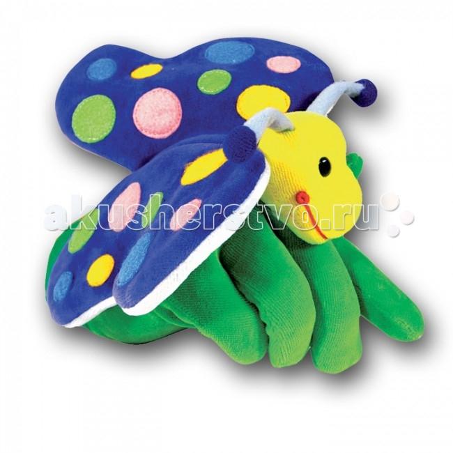 Ролевые игры Beleduc Кукла на руку Бабочка 40280 ролевые игры beleduc кукла на руку слон 40039
