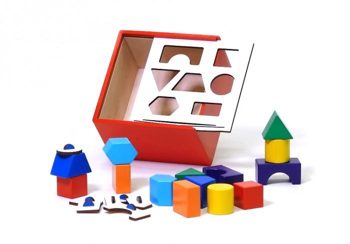 Деревянная игрушка Ступеньки творчества Ящик Сегена от семьи Никитиных