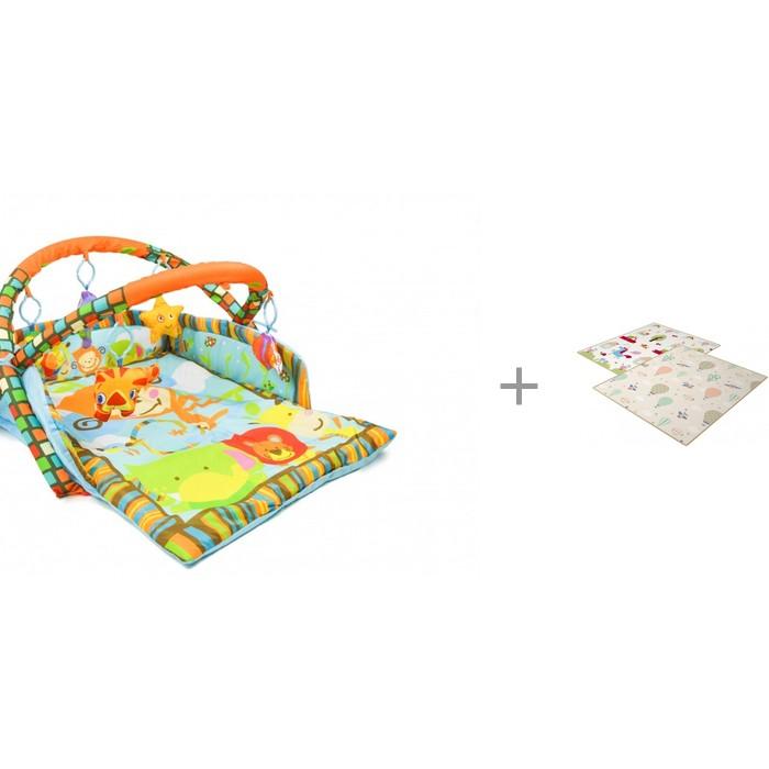Купить Развивающие коврики, Развивающий коврик Forest Opondo с игровым ковриком Funny Unicorn and Balloons 200х180х1 см