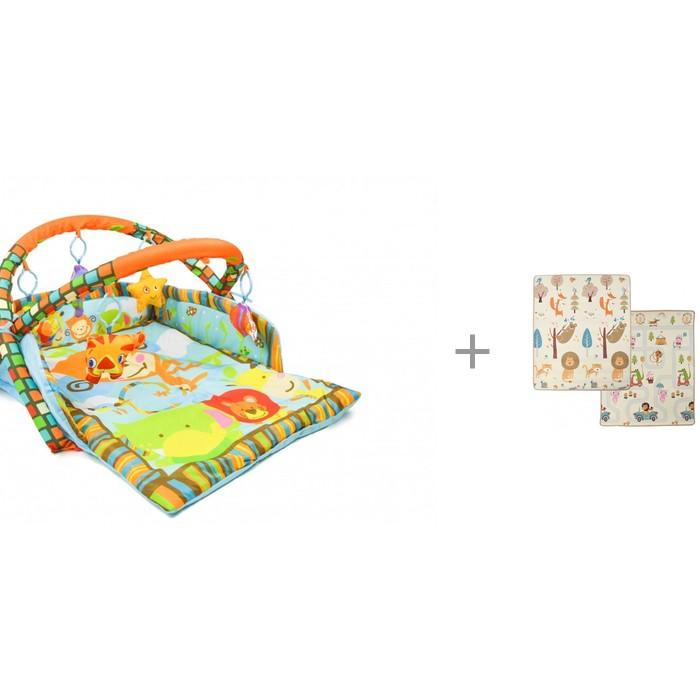 Купить Развивающие коврики, Развивающий коврик Forest Opondo с игровым ковриком Friends and Rouds 150х180х1 см