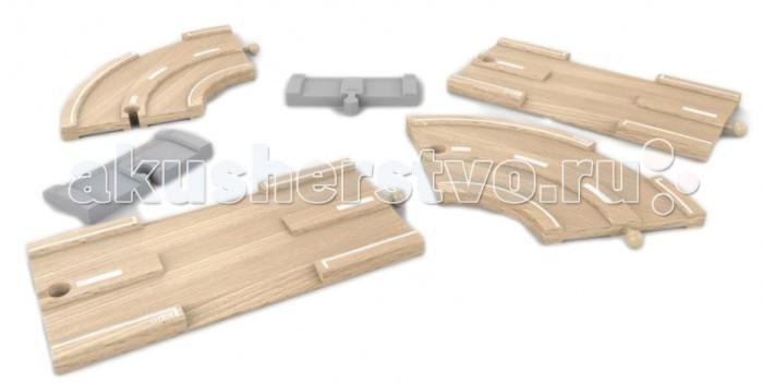 Деревянная игрушка Brio Детали для а/м дороги 6 элементов
