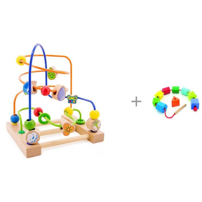 Купить Деревянная игрушка Мир деревянных игрушек Лабиринт № 3 с Бусами Геометрия в интернет магазине. Цены, фото, описания, характеристики, отзывы, обзоры