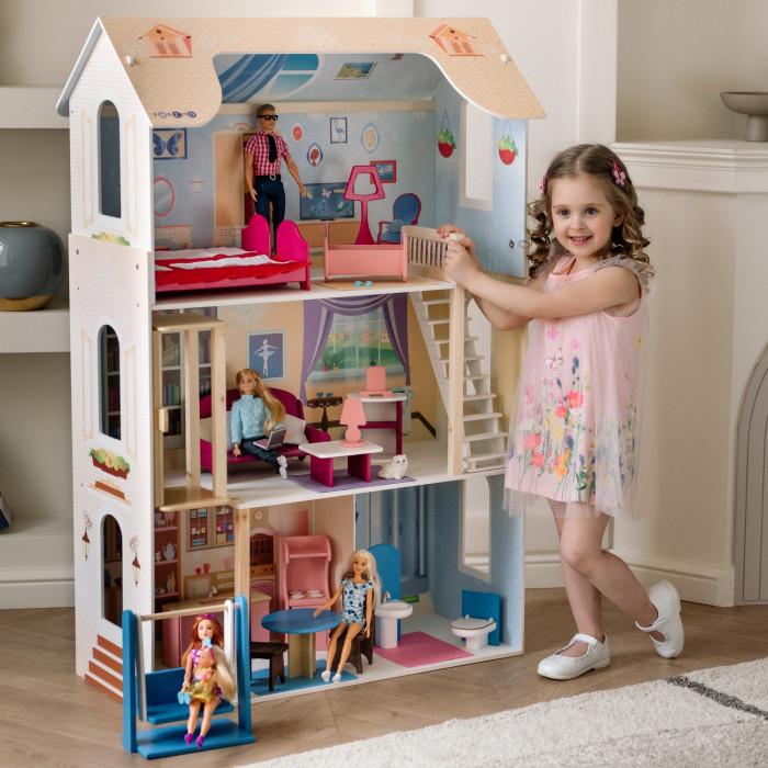 Купить Кукольные домики и мебель, Paremo Кукольный домик для Барби Грация