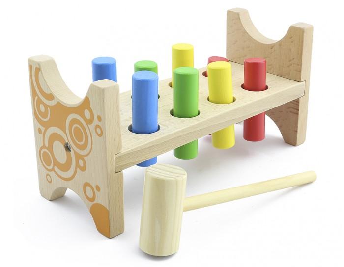 Деревянная игрушка Мир деревянных игрушек Стучалка Гвозди-перевертыши