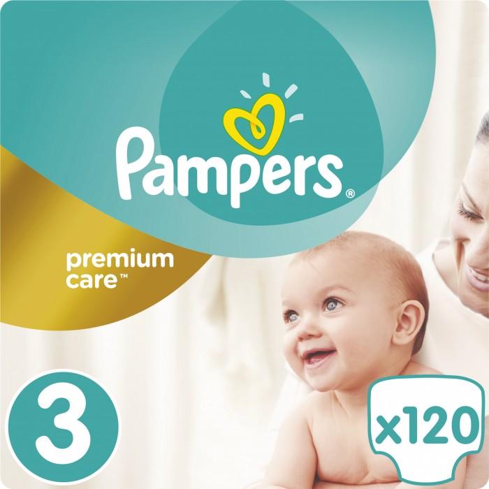 Купить Pampers Подгузники Premium Care Midi р.3 (5-9 кг) 120 шт.