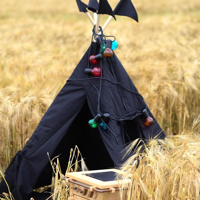 Купить Палатки-домики, VamVigvam Вигвам Black Hawk с окном и карманом 110х110 см