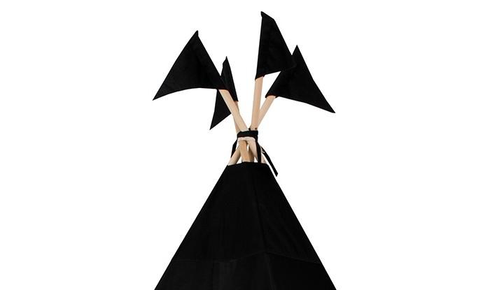 Палатки-домики VamVigvam Флажки к вигваму Black Hawk 4 шт.