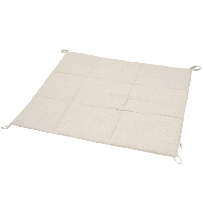 Купить Плед VamVigvam Стеганый для вигвама из льна 110х110 см в интернет магазине. Цены, фото, описания, характеристики, отзывы, обзоры