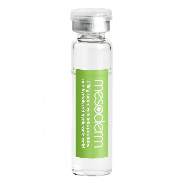 Mesoderm Лифтинговый пептидный коктейль с гиалуроновой кислотой для дермароллера 5 мл 10 шт. от Mesoderm