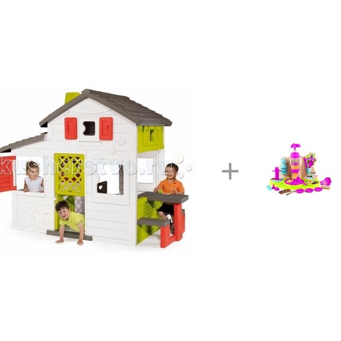 Купить Игровые домики, Smoby Домик для друзей с кухней и фабрика печенья