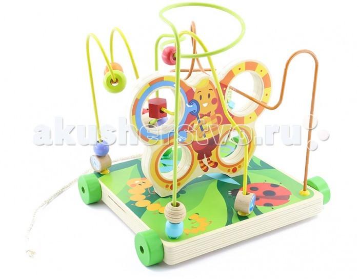 Деревянная игрушка Мир деревянных игрушек (МДИ) Лабиринт Бабочка большаяЛабиринт Бабочка большаяДеревянная игрушка МДИ Лабиринт Бабочка большая.  Дети обожают собирать что-то новое, любят собирать и разбирать что-то, и им иногда нравится рассматривать сложные конструкции, ведь это так занимательно, понимать смысл вещей. Однако, когда ребенок разбирает компьютер и начинает смотреть в него, пытаясь понять суть, то родителям становится не по себе. Поэтому специально для любознательных детей существует уникальная игрушка: деревянный лабиринт Бабочка фирмы Мир деревянных игрушек.  Эта конструкция уникальна тем, что воплощает сразу 2 мечты родителей. Ребенок будет и обучаться,и делать это интерактивно. Ваше чадо получит возможность управлять бусинками, передвигая их по сложному маршруту, и поверьте, это доставит ребенку незабываемые ощущения. Вы можете играть вместе с ребенком, прокладывая маршруты в хитросплетениях путей. В любом случае Бабочка подарить вашему малышу отличные впечатления еще на долгие годы.   Красивый, разноцветный, больших размеров лабиринт будет любимой игрушкой Вашего малыша. Играя ребенок развивает координацию движения, мелкую моторику, изучает цвета и многое другое. Детские игрушки из дерева таят в себе глубокий смысл, это единение с природой, и ваш оберег. Деревянные детские игрушки раскрывают сказочный мир, который живет внутри нас, вместе с ними сказка оживает.  Навыки:  концентрация внимания мелкая моторика  моторика  пространственное мышление речь  сенсорика  усидчивость  цветовосприятие.<br>