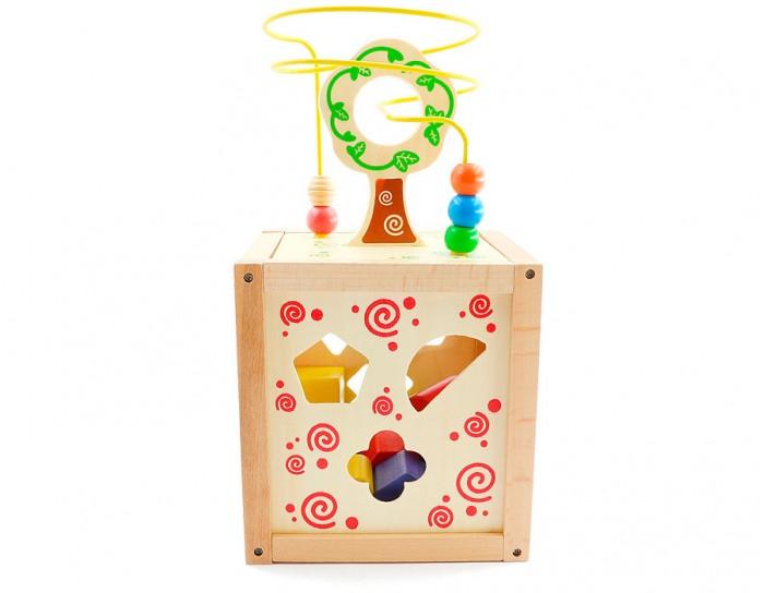 Деревянная игрушка Мир деревянных игрушек Логический кубик