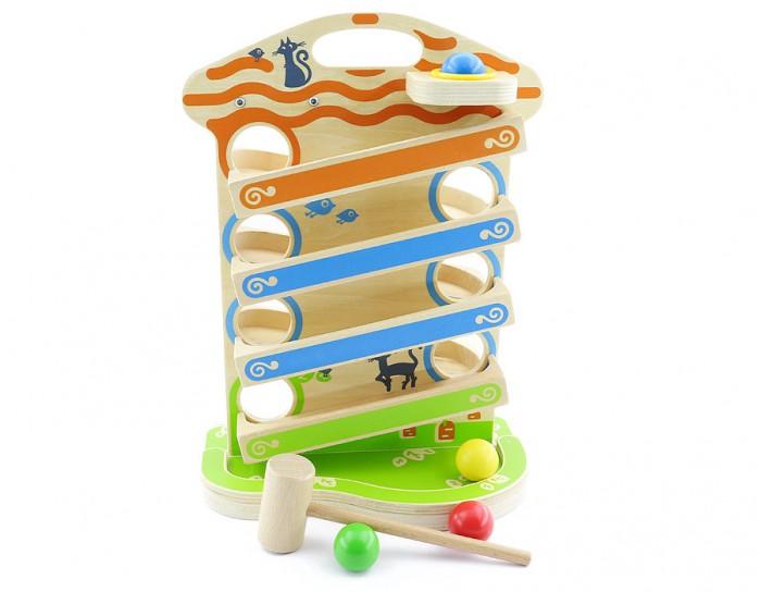 Деревянная игрушка Мир деревянных игрушек (МДИ) Горка Домик