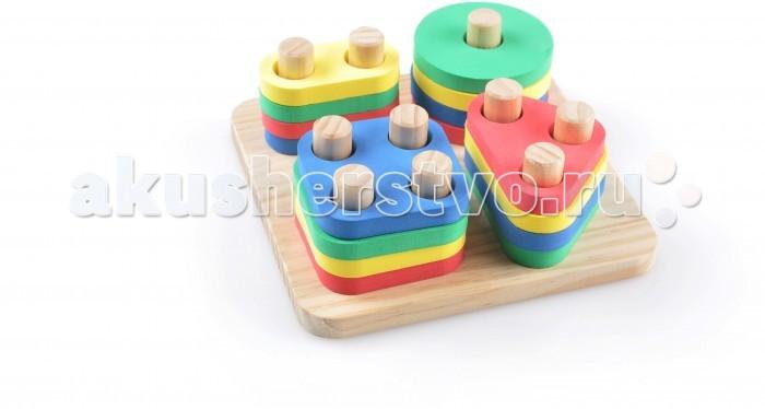 Деревянная игрушка Мир деревянных игрушек (МДИ) Логический квадрат
