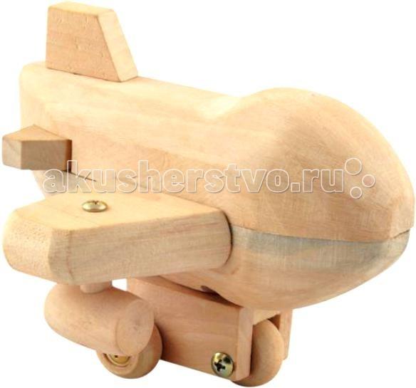 Конструкторы Мир деревянных игрушек (МДИ) Конструктор - Самолет конструкторы fanclastic конструктор fanclastic набор роботоводство