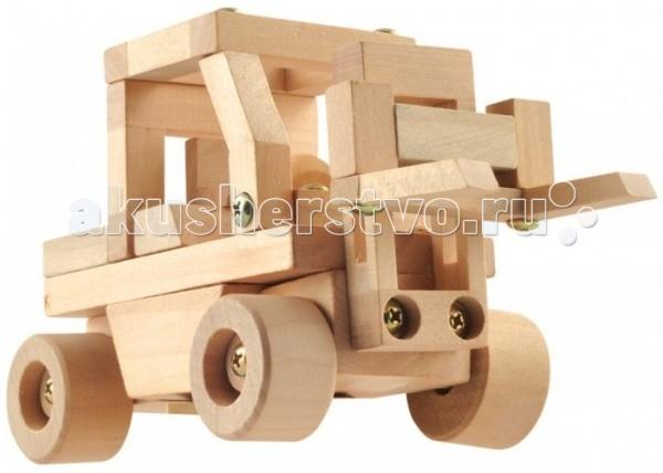 Конструкторы Мир деревянных игрушек (МДИ) Конструктор - Автопогрузчик