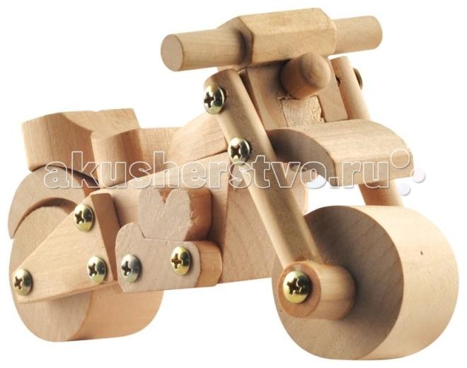Конструкторы Мир деревянных игрушек Конструктор Тонка - Мотоцикл мир деревянных игрушек конструктор такси