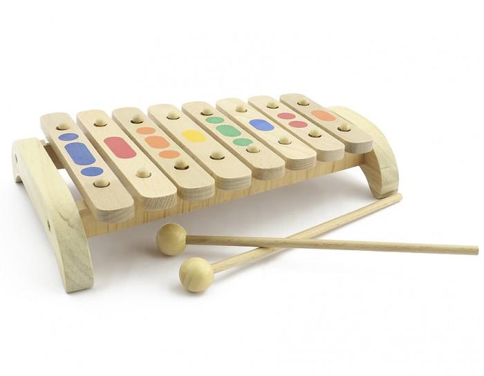 Музыкальный инструмент Мир деревянных игрушек Ксилофон 8 тонов дерево