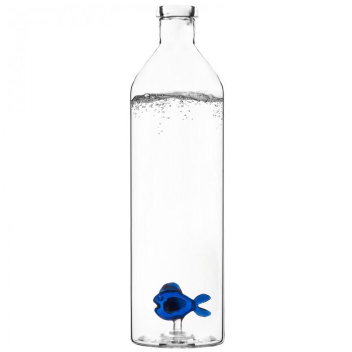 Посуда и инвентарь Balvi Бутылка для воды Blue Fish 1.2 л посуда balvi бутылка для воды scuba 1 2 л
